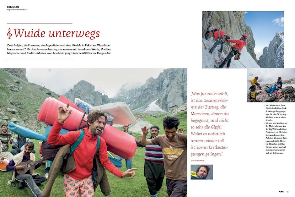 Reportage: Kletter-Expedition in Pakistan