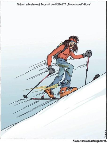 Sojer's beste Skitouren-Cartoons