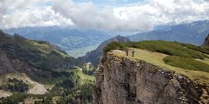 Landschaftlicher Leckerbissen: Bergtour über den Dalfazkamm