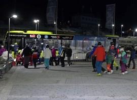 Evakuierung der Tiroler Zugspitzbahn.