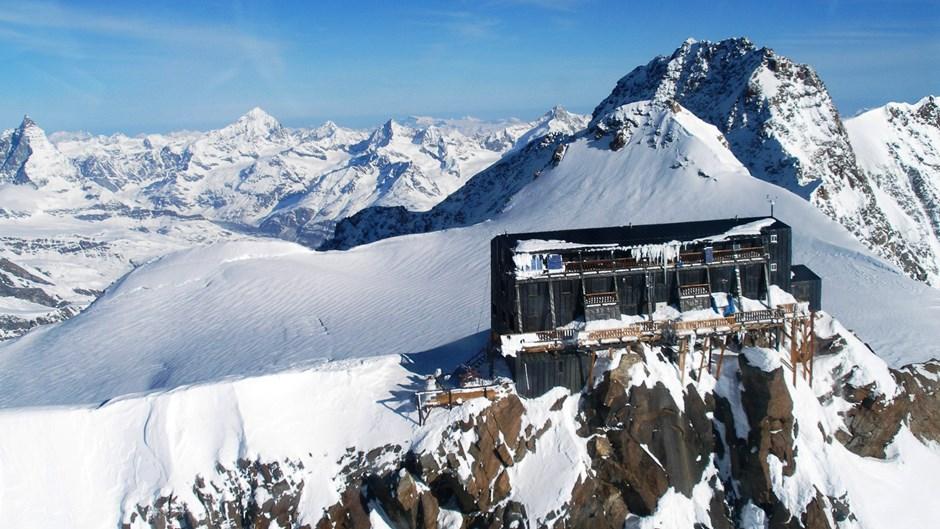 Höchstgelegene Hütte der Alpen
