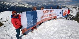 Mountain Wilderness: Demo gegen Neuerschließung