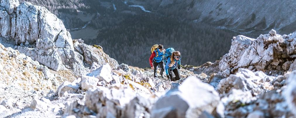 Hochgebirgswandern, Hochgebirgstouren, Liste, Checkliste