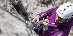 Gratis Nachhilfe in Sachen Klettersteig-Know-how