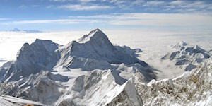 Massenansturm am Everest