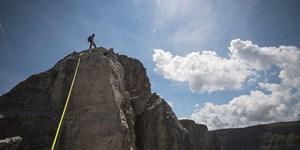 Santnerspitze: Klettertour auf ein Südtiroler Wahrzeichen