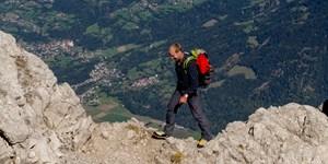 GPS-Tracks der September-Ausgabe: Biancograt, Fleischbank, Seeben Klettersteig