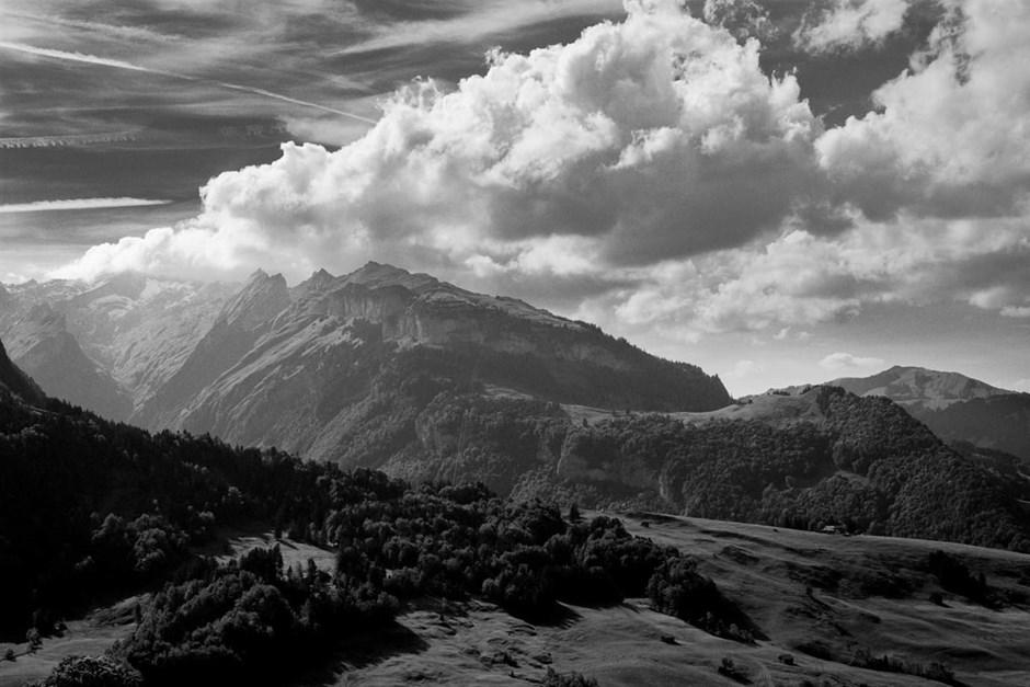 Wolken über dem Vinschgau