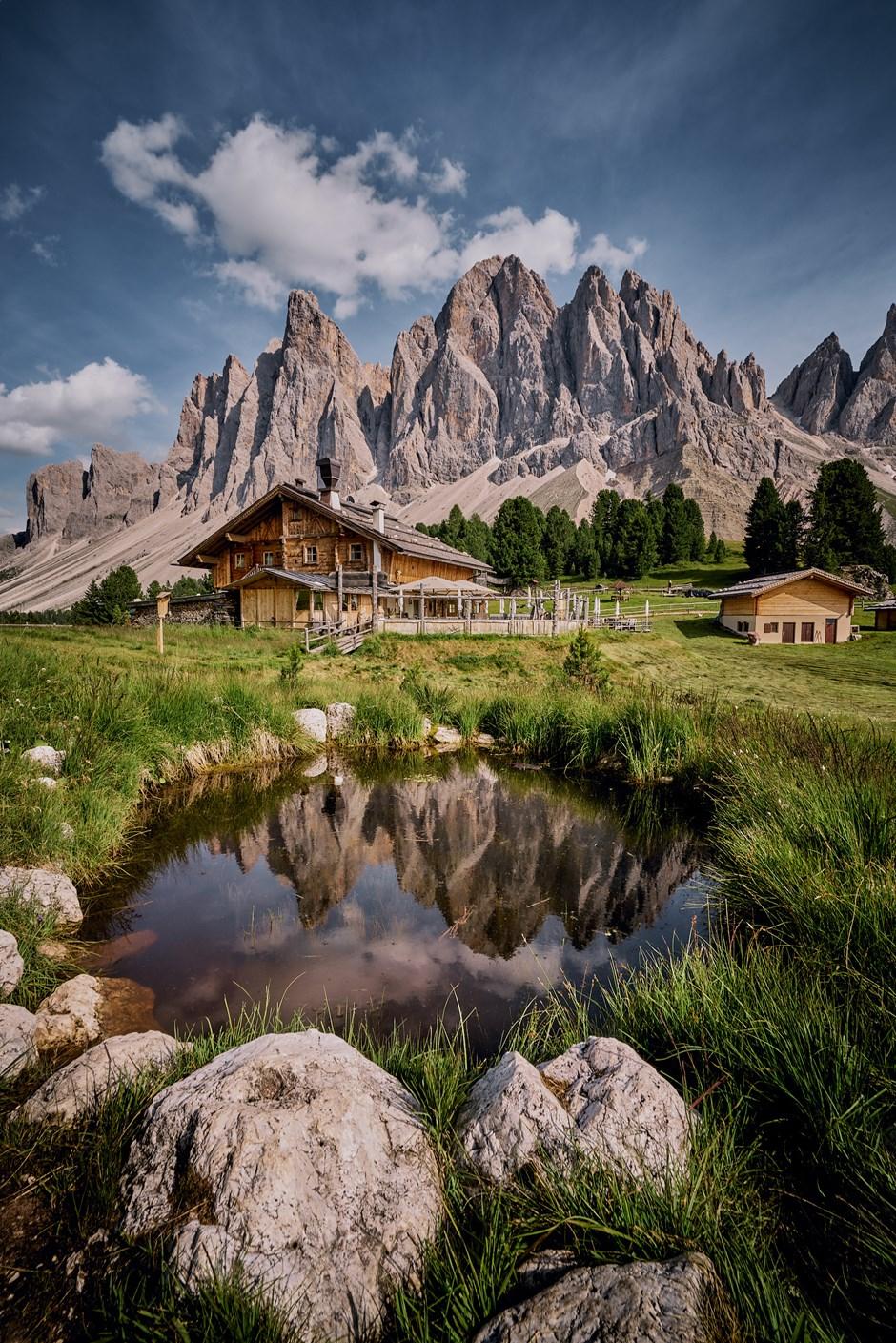 Ein Traum in den Dolomiten