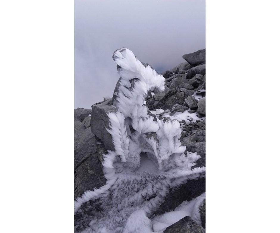 Kunst aus Stein und Eis