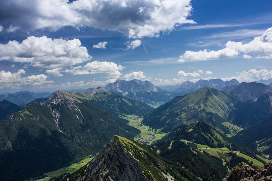 Zugspitze aus der Vogelperspektive