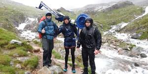 Mit dem Rudergerät auf den Mont Blanc