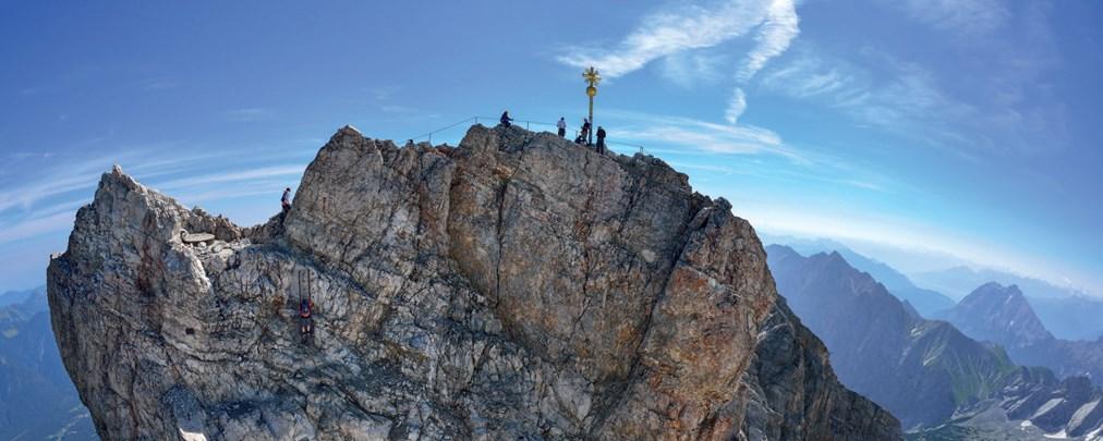 Schwere Bergtour: Zugspitze - Höllental