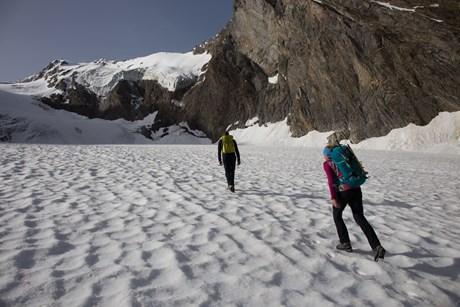 Tagesgeschäft: Bergsteigen in Obergurgl