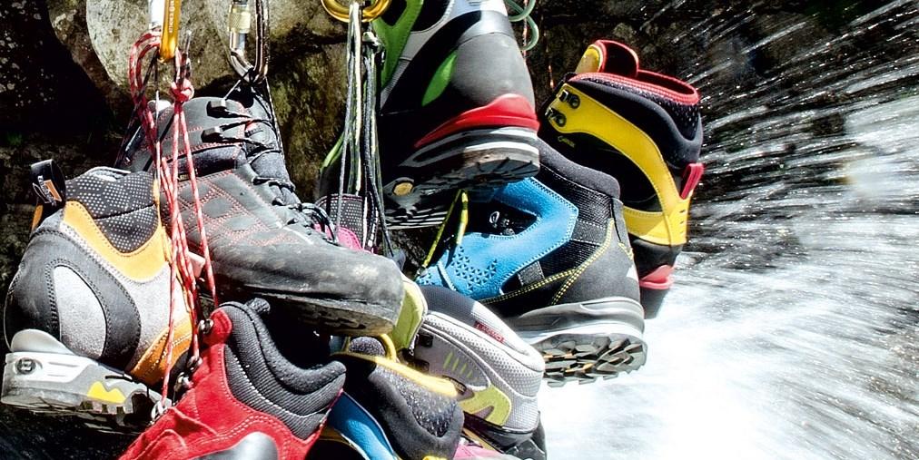 Klettersteigschuhe : Alpin test klettersteigschuhe