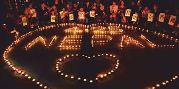 Nepal, Kerzen Herz