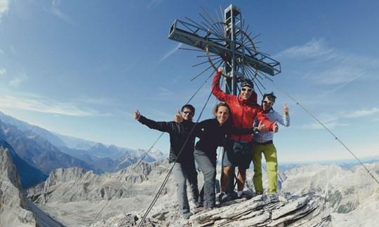 Am Gipfel der Großen Seekarspitze