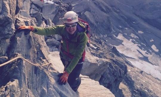 ALPIN-Leserin auf dem Gipfel des Matterhorns