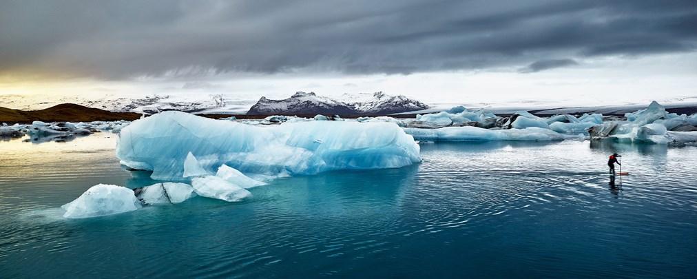 Samaya - Stehpaddeln in Island