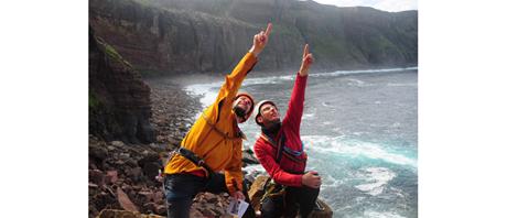 Ralf Gantzhorn - Klettern an Schottlands Küste