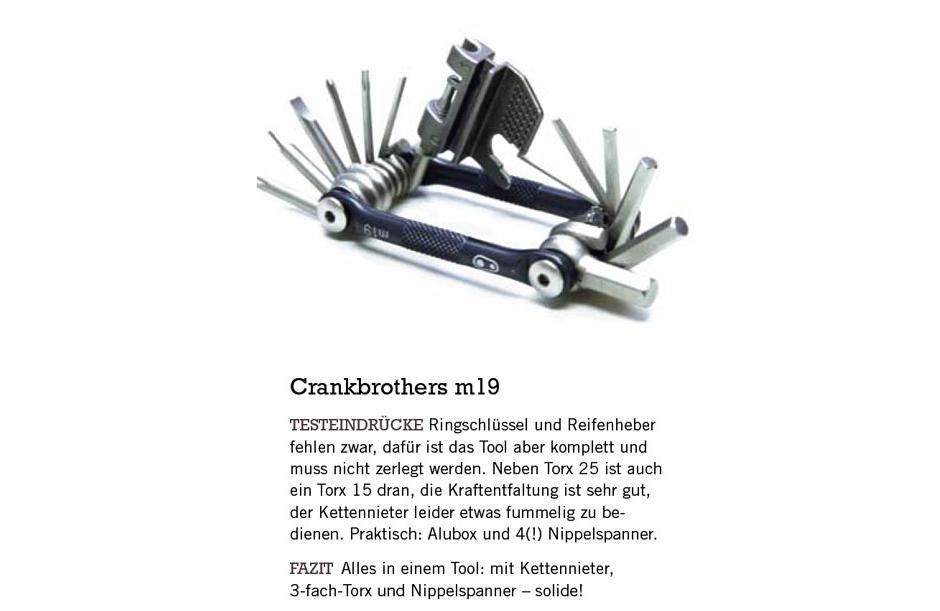 Crankbrothers m19