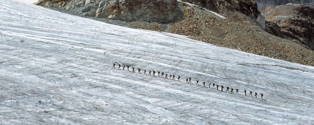 Folgen der Hitzewelle in den Alpen