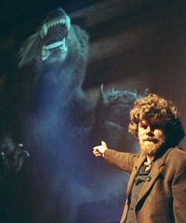 Dem Yeti auf der Spur: Reinhold Messner.