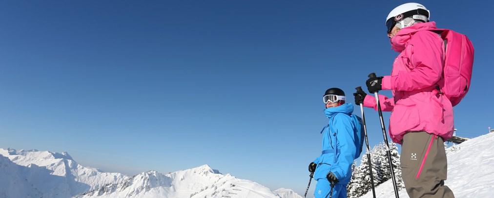 Skifahren im Kleinwalsertal