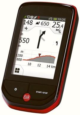 Vielfältige Darstellung auf modernen GPS-Geräten
