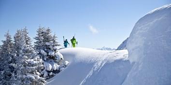 Ski-Panorma Kleinwalsertal