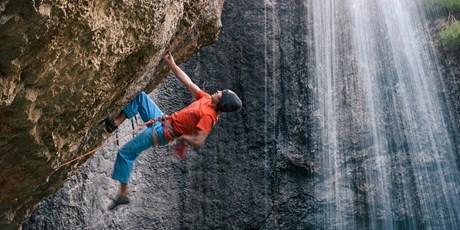 David Lama klettert im Libanon