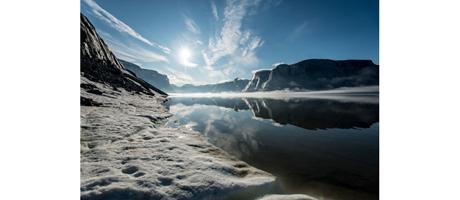 Hansjörg Auer und Pou Brüder auf Baffin Island