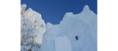 Dani Arnold in Patagonien