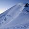 Der Bosses-Grat zum Gipfel.