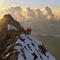Sonnenuntergangsstimmung am Matterhorn
