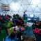 """Das """"Wohnzimmer"""" der Everest-Aspiranten im Base Camp"""