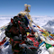 Billi Bierling auf dem Gipfel