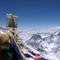 Buddha wacht am höchsten Platz der Welt