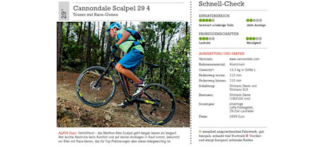 Produkttest Mountainbikes 2014