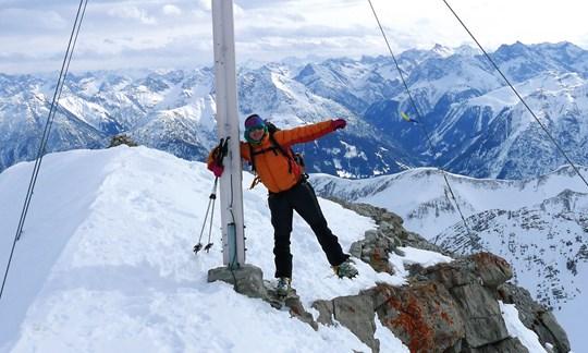 Skitour auf den Krottenkopf