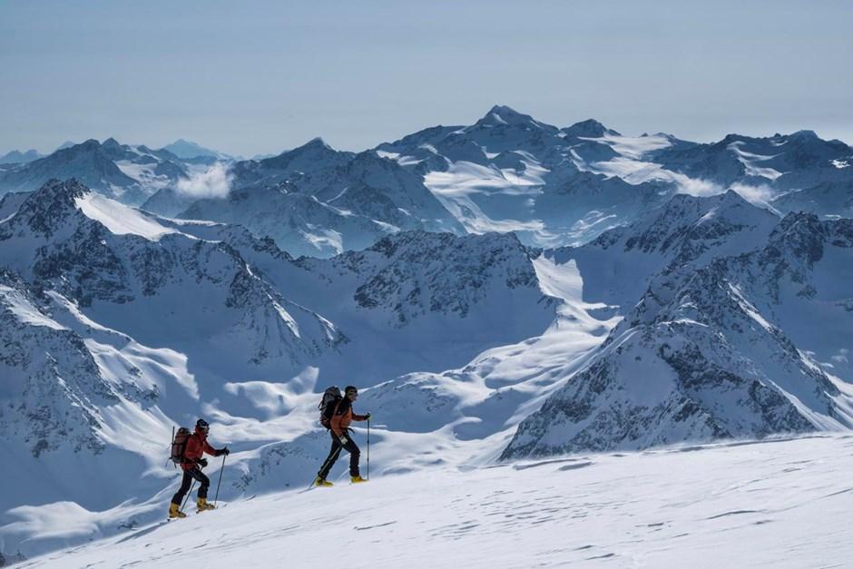 Gipfelgrat Wildes Hinterbergl