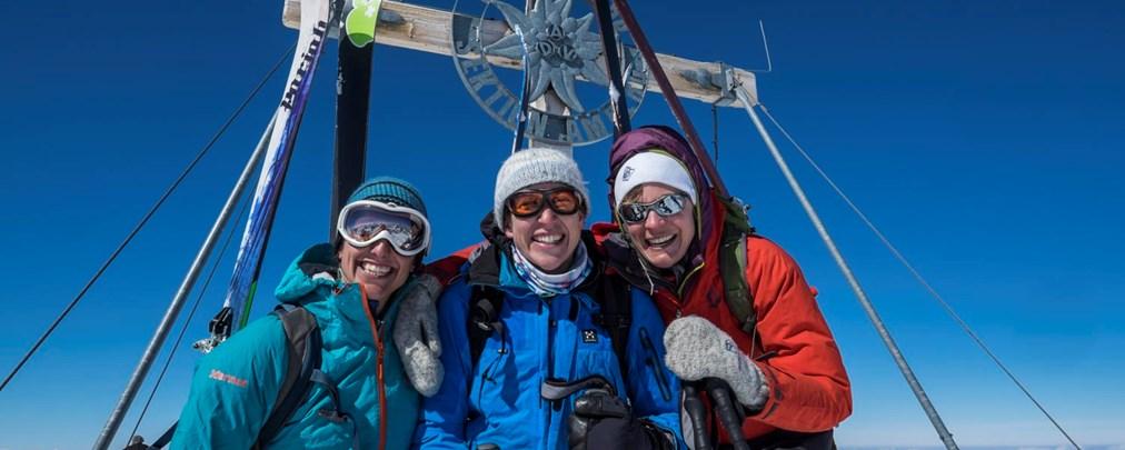 Skitouren Stubai, Franz-Senn-Hütte, Kleinwalsertal