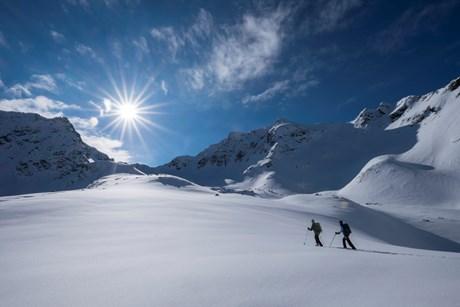 Skitouren überm Sulztal