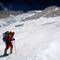 Alix von Melle in der Gipfelflanke des Makalu