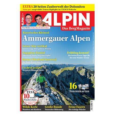 ALPIN 04/2016: Kleinod Ammergauer Alpen