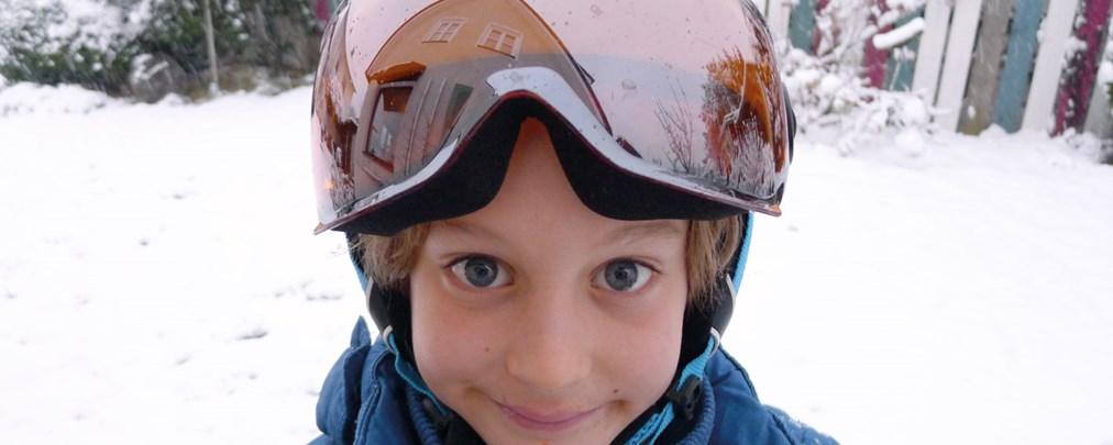 Kinder, Skihelm, Unvex Junior Visor Pro, Test