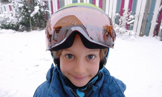 Kinder, Skihelm, Uvex Junior Visor Pro, Test