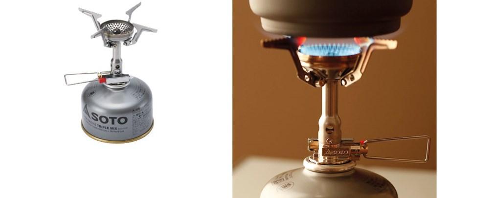 Soto Amicus Gaskocher, Test, Produkttest, Minikocher