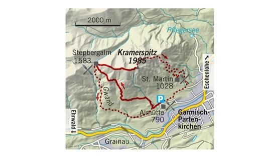 Tourentipp, Wandertipp, Kramerspitz, Zugspitze
