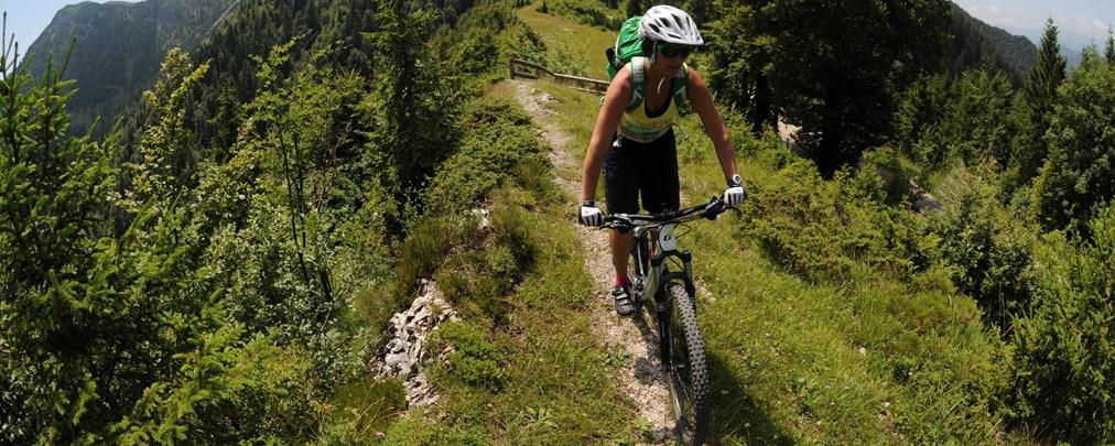 ALPIN-Umfrage: Getrennte Wege für Wanderer und Biker?